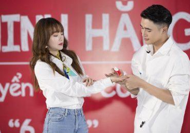 Minh Hằng 'phấn khích' với dàn trai đẹp đến casting Web-drama đặc biệt