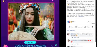 Khép lại một năm thăng hoa, Hoàng Thùy Linh dành tặng FC huy hiệu 'fan cứng'