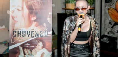 Nữ diễn viên phim 'Sống chung với mẹ chồng' tung MV debut, cạo đầu ngay sản phẩm chào sân V-pop