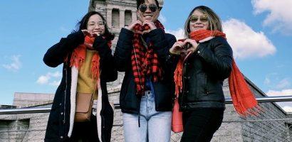 Gia đình MC Nguyên Khang hội ngộ tại Mỹ