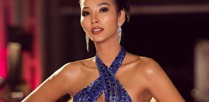 Á hậu Hoàng Thùy diện lại trang phục trong đêm chung kết Miss Universe 2019