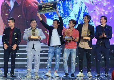 Nhóm Hey Man đoạt giải quán quân 'Lô tô show – Phiên bản nghệ sĩ'