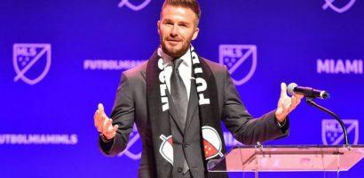 Beckham gặp rắc rối đầu tiên khi làm ông bầu bóng đá