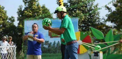 Hiếu Hiền làm MC gameshow 'Cùng nhau hái lộc' dành cho nông dân giỏi miền Tây