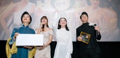 Lan Ngọc, Lê Khanh, Jun Vũ lọt trong vòng vây của khán giả Huế