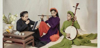 Trương Thị May cùng em gái hóa thiếu nữ Việt Nam xưa cùng bộ ảnh áo dài ấn tượng