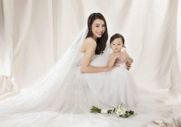 Trà Ngọc Hằng hóa cô dâu xinh đẹp mùa lễ valentine