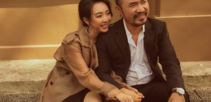9 năm bên nhau vẫn yêu say đắm, Thu Trang – Tiến Luật ngọt ngào đón Valentine