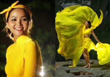 H'hen Niê khoe dáng, tung váy điệu nghệ trong hang động Sơn Đoòng
