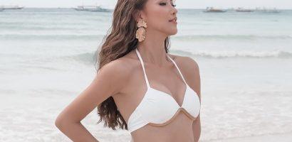 Ngắm múi bụng đầy quyến rũ của Hoa hậu Phương Khánh