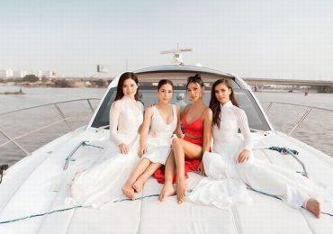 Hoa hậu Siêu Quốc 2019 thả dáng ngọc bên Hoàng Thuỳ