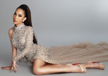 Vicky Trần hé lộ váy dạ hội cầu kỳ trình diễn chung kết Hoa hậu Chuyển giới 2020