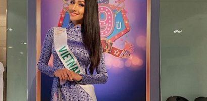 Hoài Sa mang áo dài, phủ sóng trên truyền hình Thái Lan