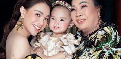Trà Ngọc Hằng chụp bộ ảnh cùng mẹ và con gái nhân dịp 8/3