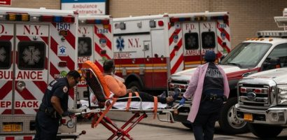 Mỹ là nước đầu tiên có hơn 2.000 ca tử vong một ngày