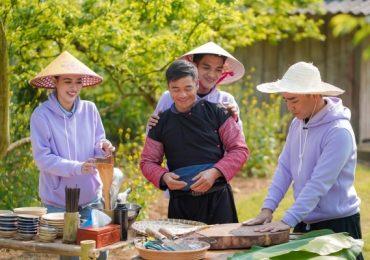 Mạc Văn Khoa khiến Tú Hảo 'tròn mắt' khi đẩy cối xay đá nặng 300kg