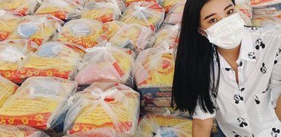 Á hậu Kim Duyên trao 300 phần quà cho người dân nghèo tại Tp.HCM