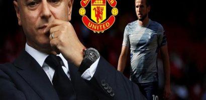 Nổi giận vì Harry Kane muốn khoác áo M.U, chủ tịch Tottenham rao bán giá 200 triệu bảng