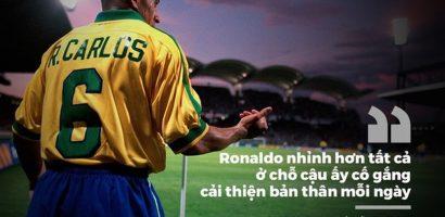 Những huyền thoại khen Ronaldo đẳng cấp hơn Messi