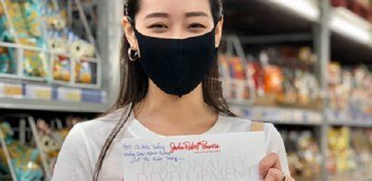 Hoa hậu Khánh Vân trở lại OBV thăm các bé gái bị khai thác tình dục