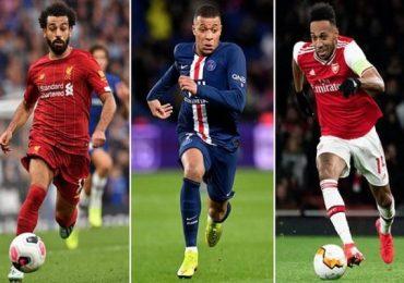 Mbappe là cầu thủ bóng đá chạy nhanh nhất, Ronaldo và Messi 'mất tích'