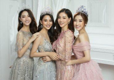 Hoa hậu Đỗ Mỹ Linh, Tiểu Vy, Lương Thuỳ Linh 'đọ' sắc với vương miện tiền tỷ