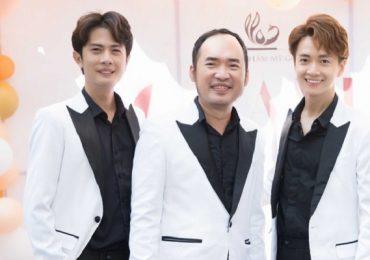 Ngô Kiến Huy, Tiến Luật và Huỳnh Phương 'bắt tay' mở viện thẩm mỹ