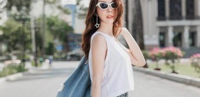 Xuống phố ngày hè năng động cùng Hoa hậu Huỳnh Vy