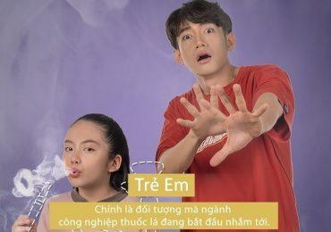 Quang Đăng là nghệ sĩ Việt Nam duy nhất tham gia chiến dịch chống thuốc lá của WHO