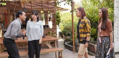 'Gạo nếp gạo tẻ' phần 2: Thúy Ngân, Thùy Trang 'lột xác' 180 độ khi lấy chung chồng là Trung Dũng