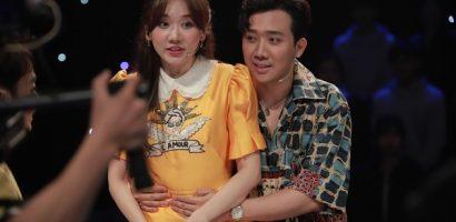 Gil Lê cùng vợ chồng Trấn thành – Hari Won cầm trích show truyền hình tài năng nhí
