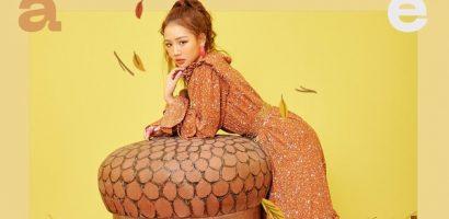 Sau một năm debut, Amee chính thức phát hành album đầu tay với hình tượng công chúa bốn mùa