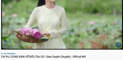 MV mới của Chi Pu thẳng tiến 'ngôi vương' Top Trending chỉ sau 1 ngày ra mắt
