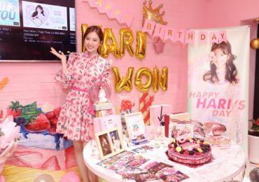Hari Won bất ngờ được fan tổ chức sinh nhật