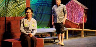 Minh Dự diễn xuất duyên dáng, tung hứng nhịp nhàng cùng nghệ sĩ Tiểu Bảo Quốc và Nam Thư