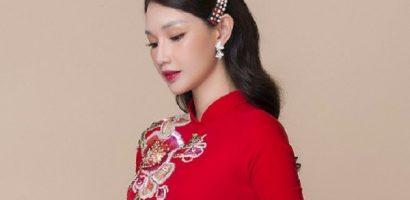 Quỳnh Chi hóa cô dâu nữ tính trong tà áo dài của Minh Châu