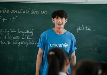 Quang Đăng được UNICEF mời đồng hành trong chuyến thiện nguyện về Bến Tre
