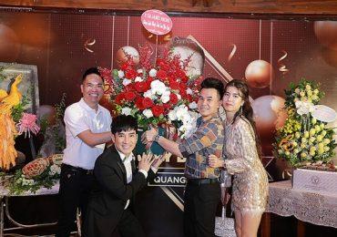 Quang Hà chi hàng trăm triệu tổ chức sinh nhật cho 'ông bầu' Quang Cường