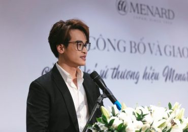 Ca sĩ Hà Anh Tuấn trở thành đại sứ cho thương hiệu mỹ phẩm cao cấp