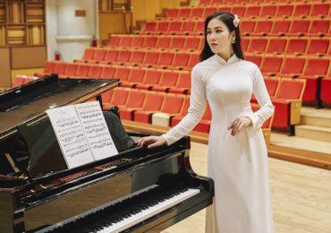 Hoa hậu Áo dài Tuyết Nga luyện thanh đến 'nổ cổ', tập vũ đạo ê ẩm