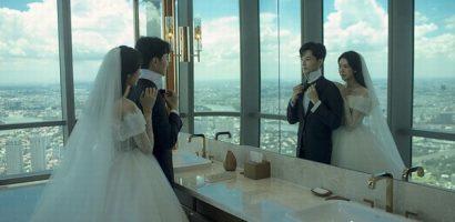 Á hậu Thúy Vân khoe ảnh cưới chụp tại toà nhà cao nhất Việt Nam