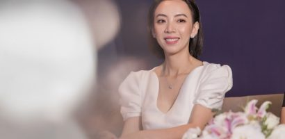 Sánh đôi bên Thái Hòa, Thu Trang vẫn không quên khoe khéo về ông xã Tiến Luật