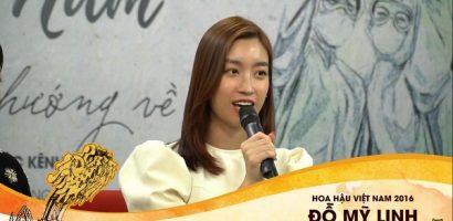 Hoa hậu Đỗ Mỹ Linh động viên Đà Nẵng chống dịch