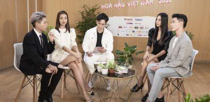 Hương Giang cùng Đỗ Mỹ Linh, Mai Phương Thuý 'chặt chém' nhau trong talkshow HHVN2020