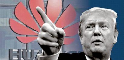 Huawei thấm đòn, số phận rơi vào tay ông Trump