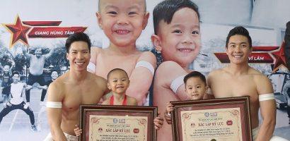 Con trai Quốc Cơ – Quốc Nghiệp xác lập kỷ lục Việt Nam