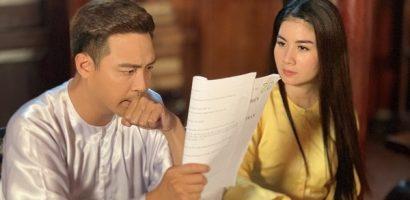 Thanh Duy thừa nhận đóng phim với vợ còn áp lực hơn thực hiện cảnh hôn với bạn diễn nữ