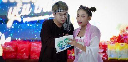 'Chị Hằng' Khả Như và 'chú Cuội' Duy Khánh đón Trung thu cùng trẻ em mồ côi ở Long An