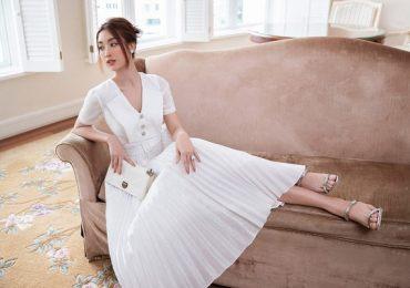 Hoa hậu Đỗ Mỹ Linh chuộng phong cách thanh lịch