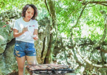 Thái Thùy Linh choáng ngợp trước phong vị thiên nhiên của Phong Nha – Kẻ Bàng